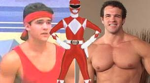 De power ranger rojo , a actor porno gay!